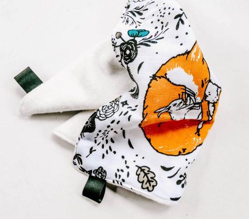 fox muslin comforter