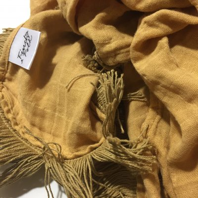 Fringed Swaddles and Blankets